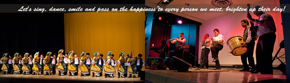 Let's sing, dance, smile and pass on the happiness to every person we meet; brighten up their day!